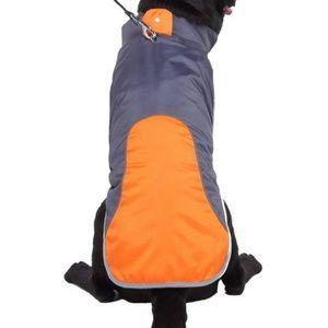 🐶2/$25 Dog Thick winter coat wind proof for Medium dogs orange